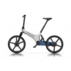 Gocycle GS White/Blue